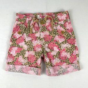 ✨3/$25✨OshKosh B'gosh Butterfly Print Long Shorts